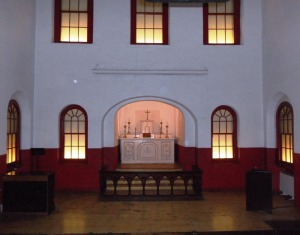 Chapel in Kilmainham Gaol.