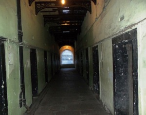 Many leaders of the Easter Rising were held in this section of the Gaol.