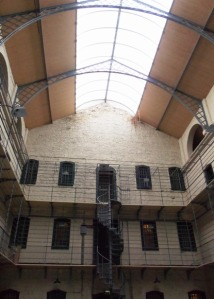 The East Wing of the Gaol, designed in the Panopticon style.