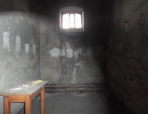 Cell in the oldest section of the Gaol.