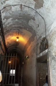 Corridor in the oldest section of the Gaol.