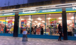 Poundland, located in Sauchiehall Street, Glasgow.