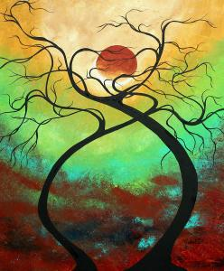 twisting-love-ii-original-painting-by-madart-megan-duncanson